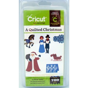 Cricut Shape Cartridge A Quilted Christmas Item 20-01189